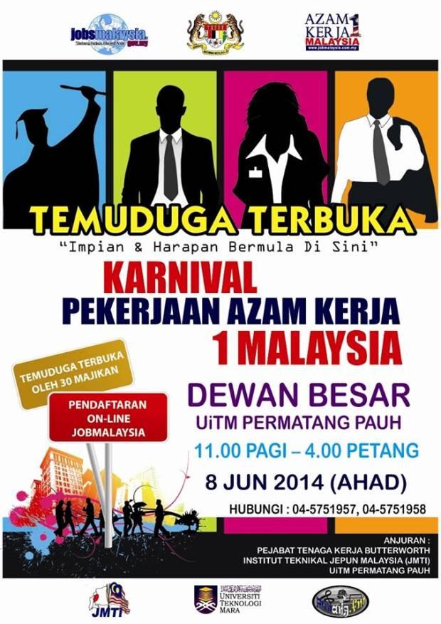Karnival Pekerjaan Azam Kerja 1Malaysia Pulau Pinang