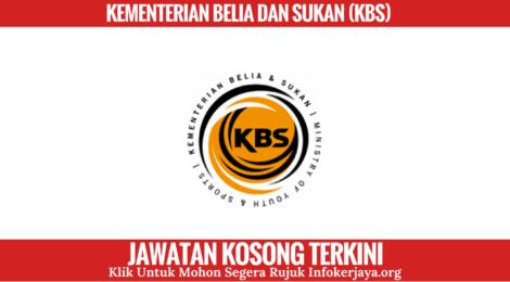 Jawatan Kosong Kementerian Belia dan Sukan (KBS)