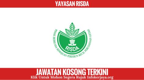 Jawatan Kosong Yayasan RISDA