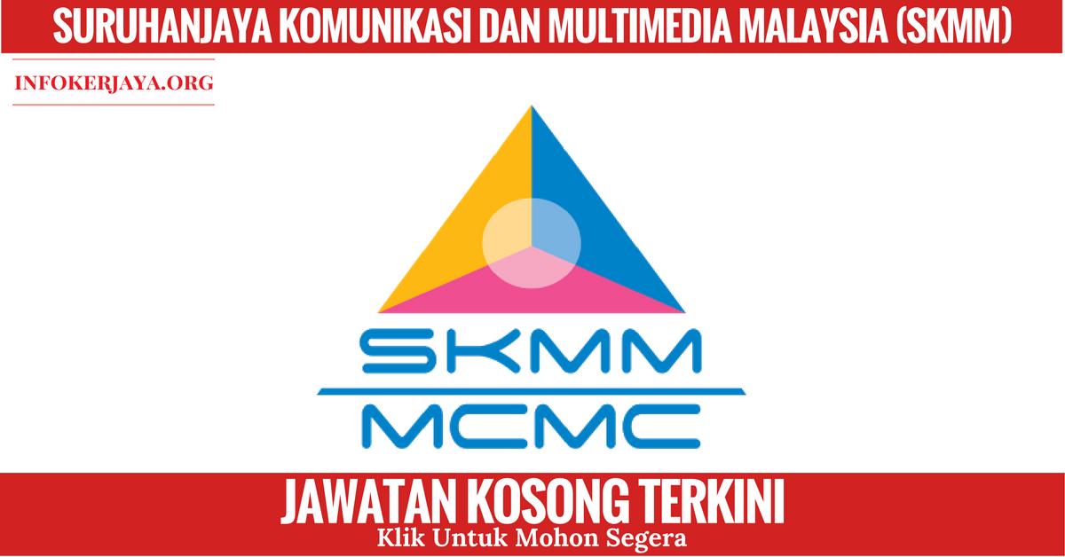 Jawatan Kosong Suruhanjaya Komunikasi Dan Multimedia Malaysia (SKMM)