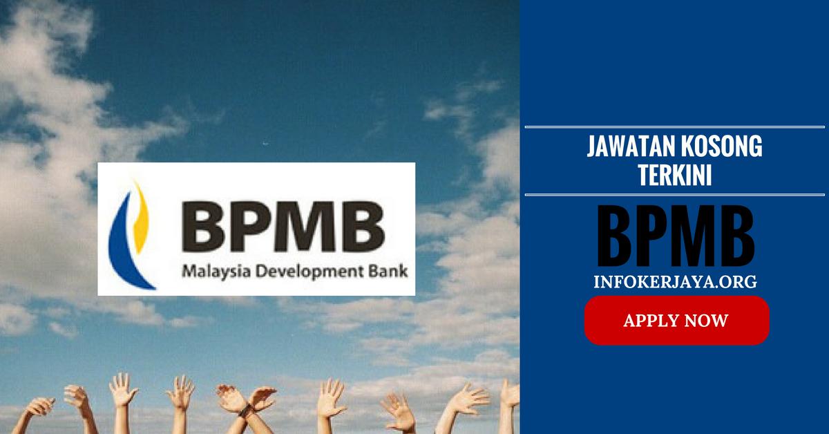 Jawatan Kosong Bank Pembangunan Malaysia Berhad