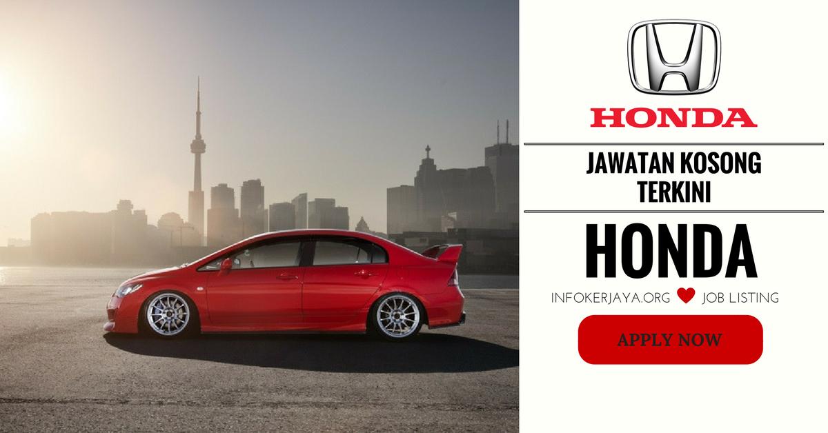 Jawatan Kosong Honda Malaysia Sdn. Bhd
