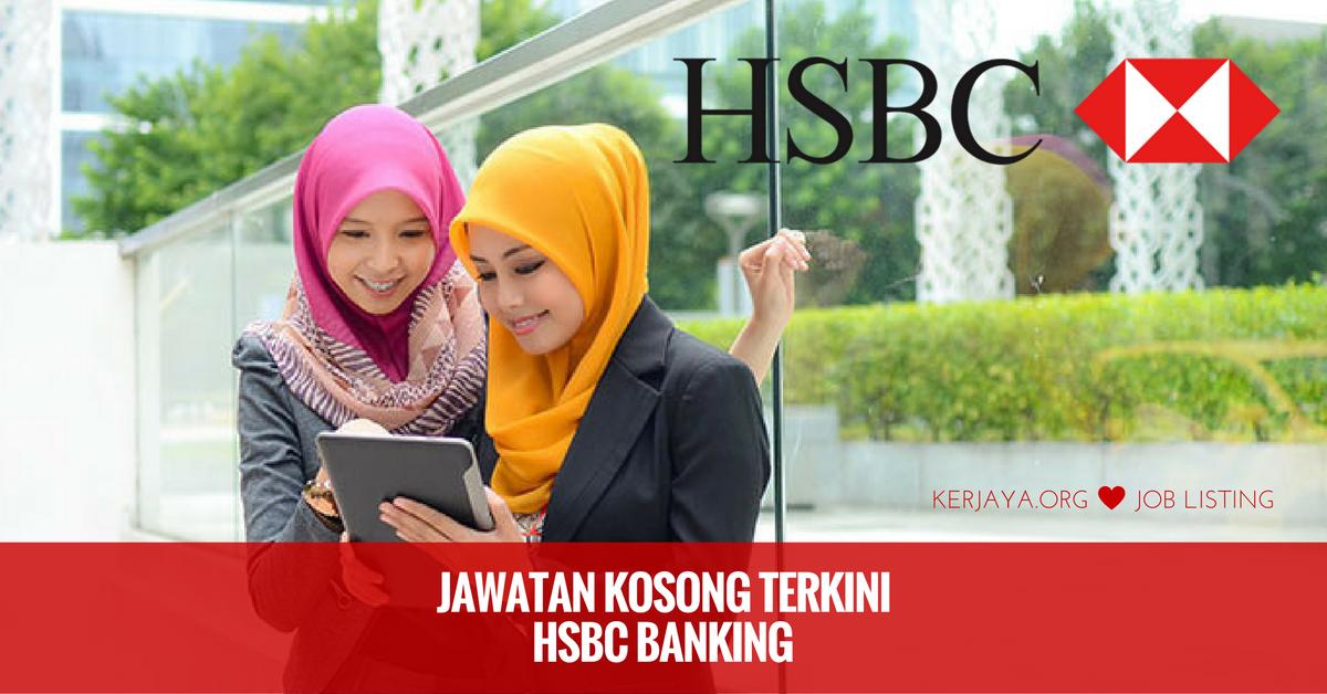 Jawatan Kosong HSBC Banking