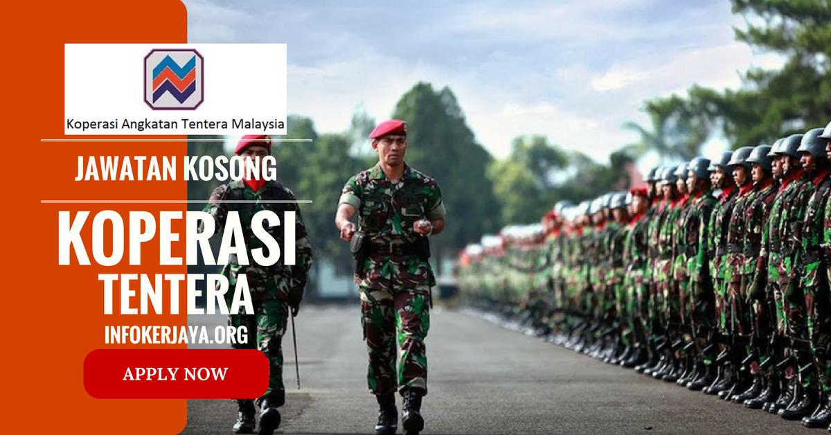 Jawatan Kosong Koperasi Tentera