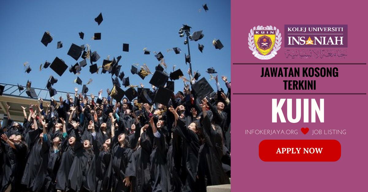 Jawatan Kosong Kolej Universiti Insaniah KUIN
