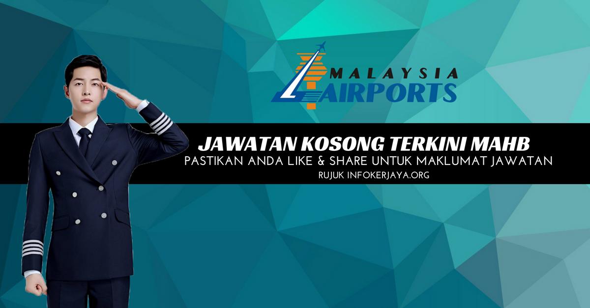 Jawatan Kosong Malaysia Airport MAHB