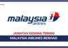 Jawatan Kosong Malaysia Airlines Berhad (MAB)