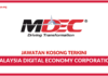 Jawatan Kosong Terkini Malaysia Digital Economy Corporation (MDEC)