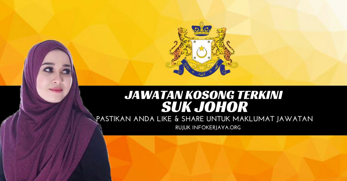 Jawatan Kosong SUK Johor