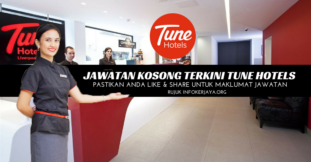Jawatan Kosong Tune Hotels
