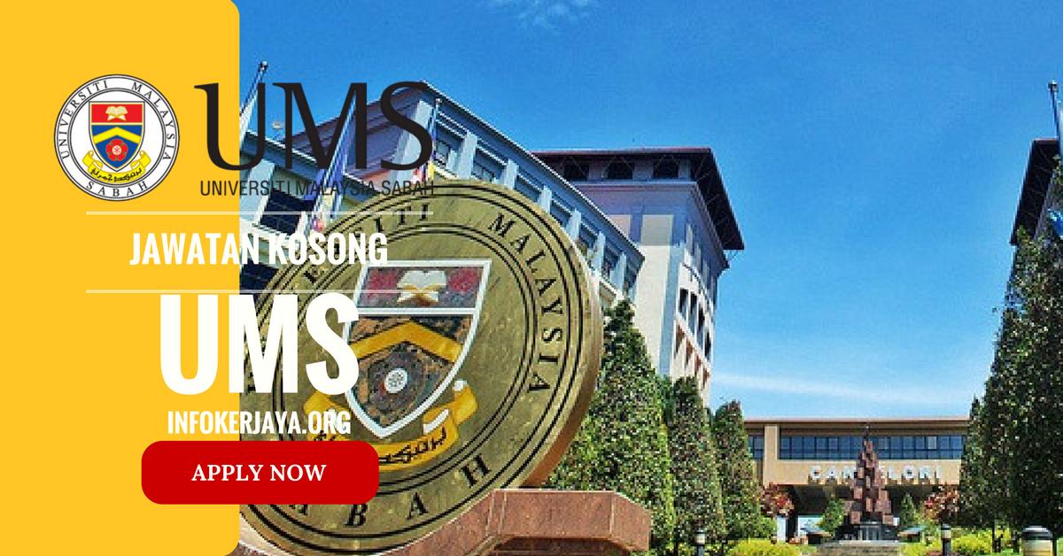 Jawatan Kosong Universiti Malaysia Sabah