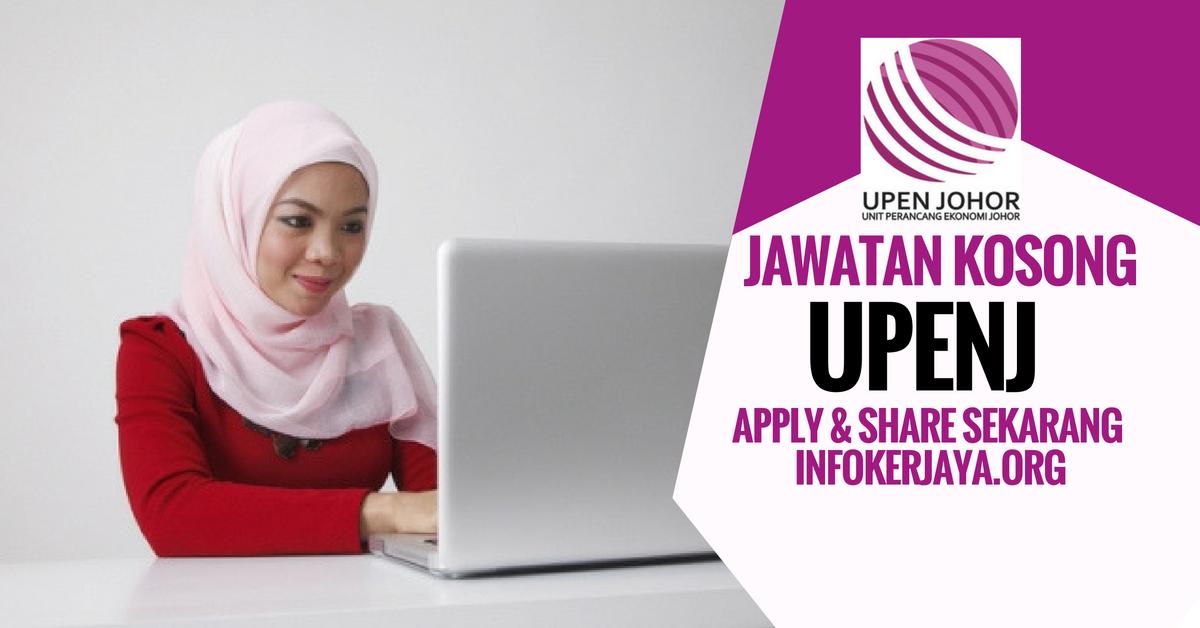 Jawatan Kosong Unit Perancangan Ekonomi Johor UPENJ