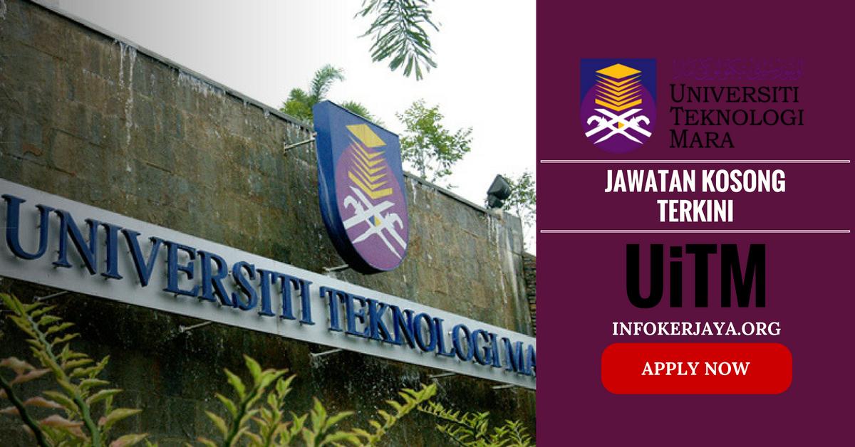 Jawatan Kosong Universiti Teknologi Mara UiTM