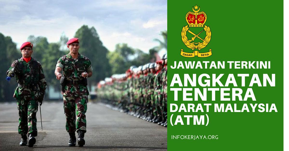 Jawatan Kosong Tentera Darat Malaysia ATM