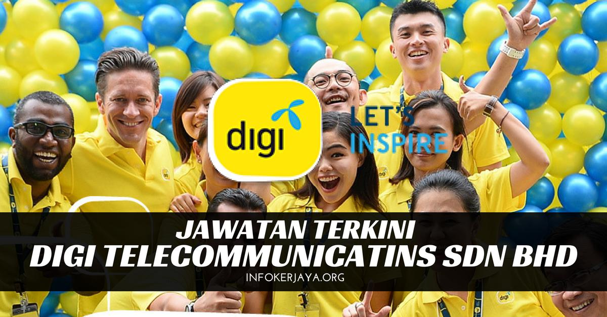 Jawatan Kosong Digi Telecommunicatins Sdn Bhd