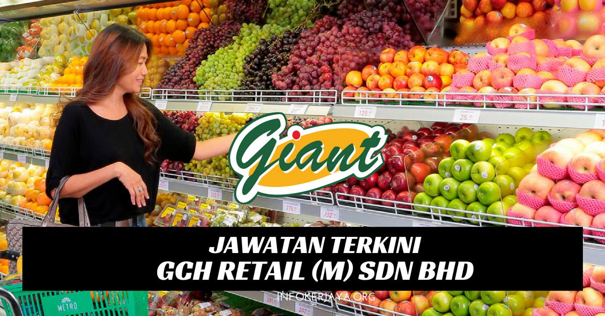 Jawatan Kosong GCH Retail (M) Sdn Bhd