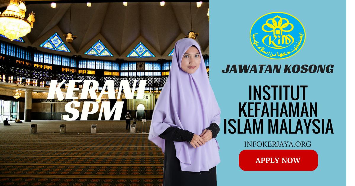 Jawatan Kosong Institut Kefahaman Islam Malaysia IKIM