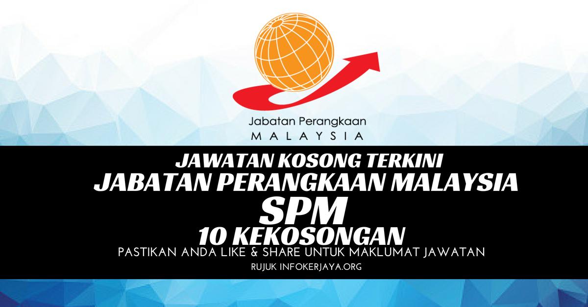 Jawatan Kosong Jabatan Perangkaan Malaysia