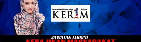 Jawatan Kosong Persatuan Kesejahteraan Rakyat 1 Malaysia KR1M