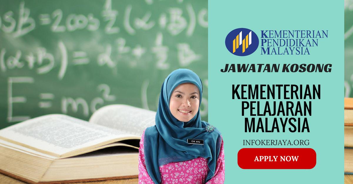 Jawatan Kosong Kementerian Pelajaran Malaysia