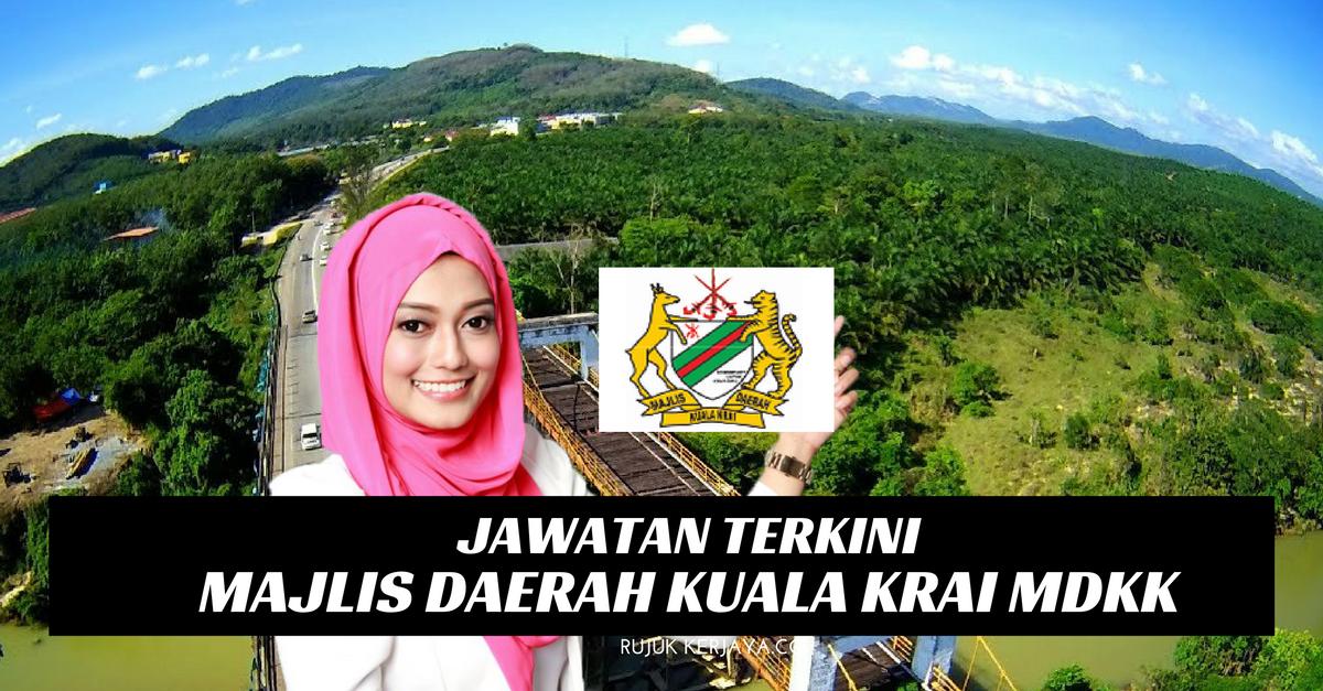 Jawatan Kosong Majlis Daerah Kuala Krai MDKK