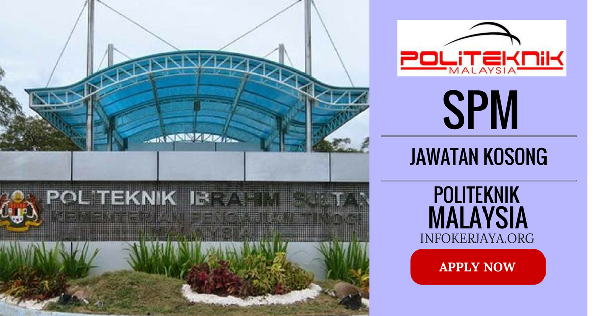 Jawatan Kosong Politeknik Kementerian Malaysia