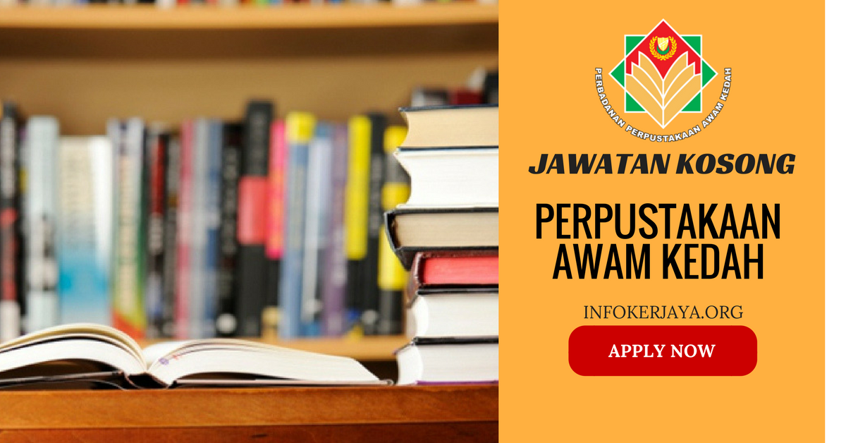 Jawatan Kosong Perpustakaan Awam Kedah PPAK