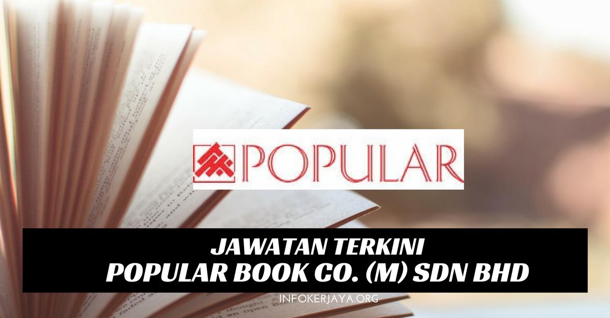 Jawatan Kosong Popular Book Co. (M) Sdn Bhd