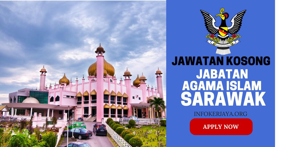 Jawatan Kosong Jabatan Agama Islam Sarawak