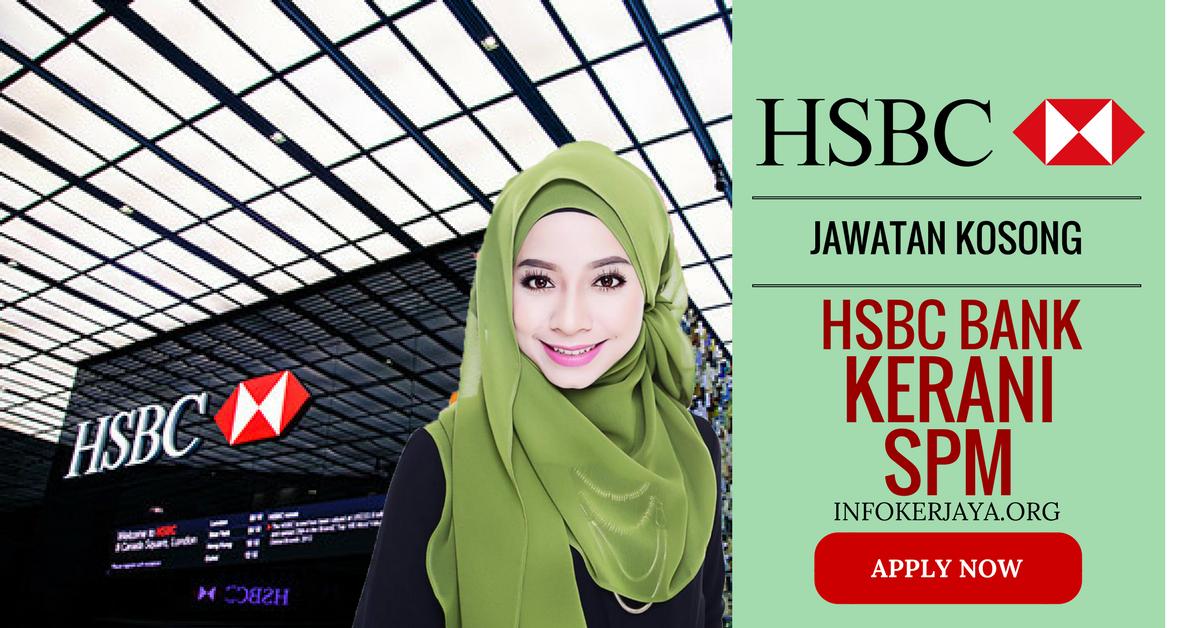 Jawatan Kosong HSBC Bank