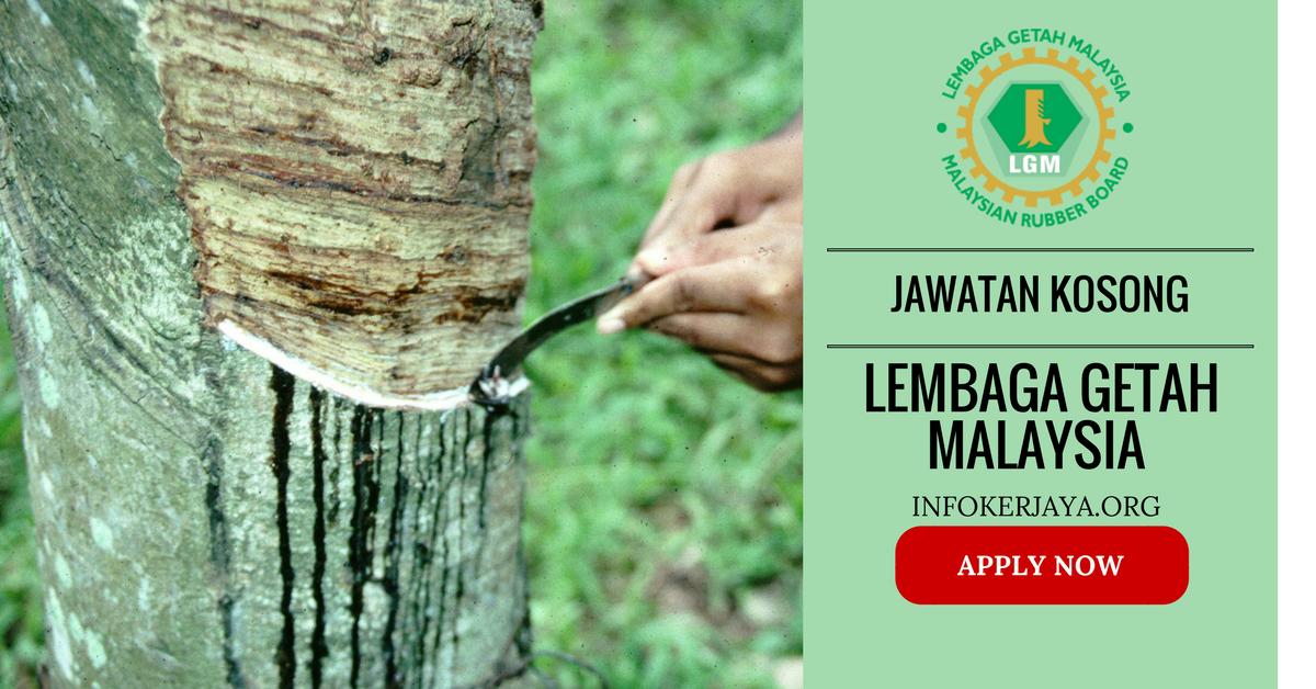 Jawatan Kosong Lembaga Getah Malaysia LGM