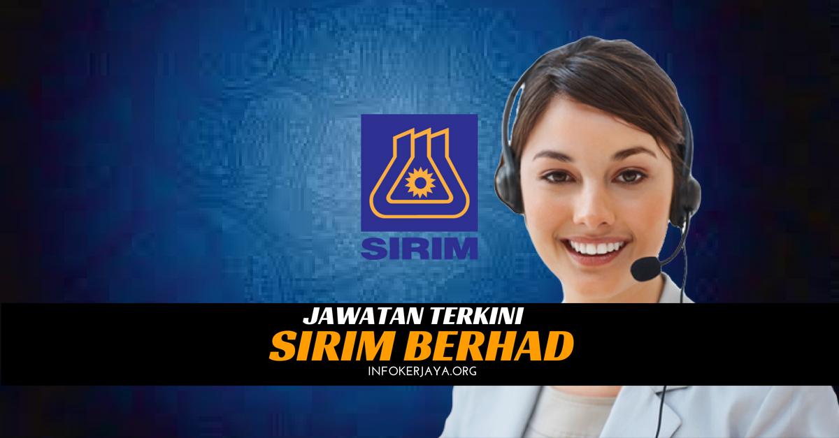 Jawatan Kosong SIRIM Berhad