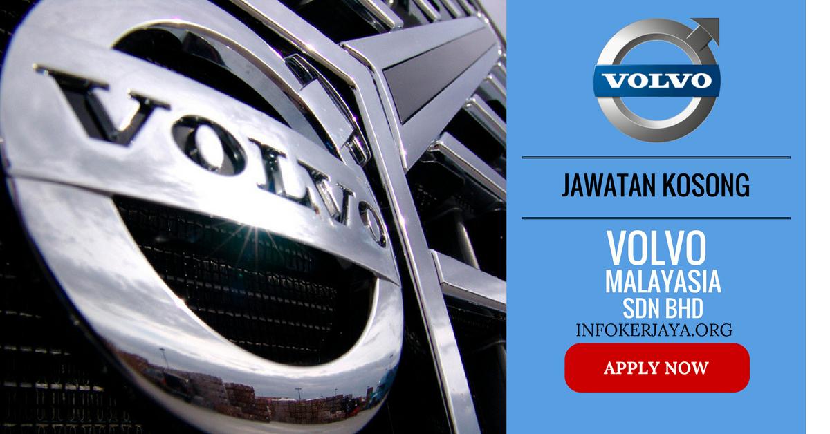 Jawatan Terkini Volvo Sdn bhd