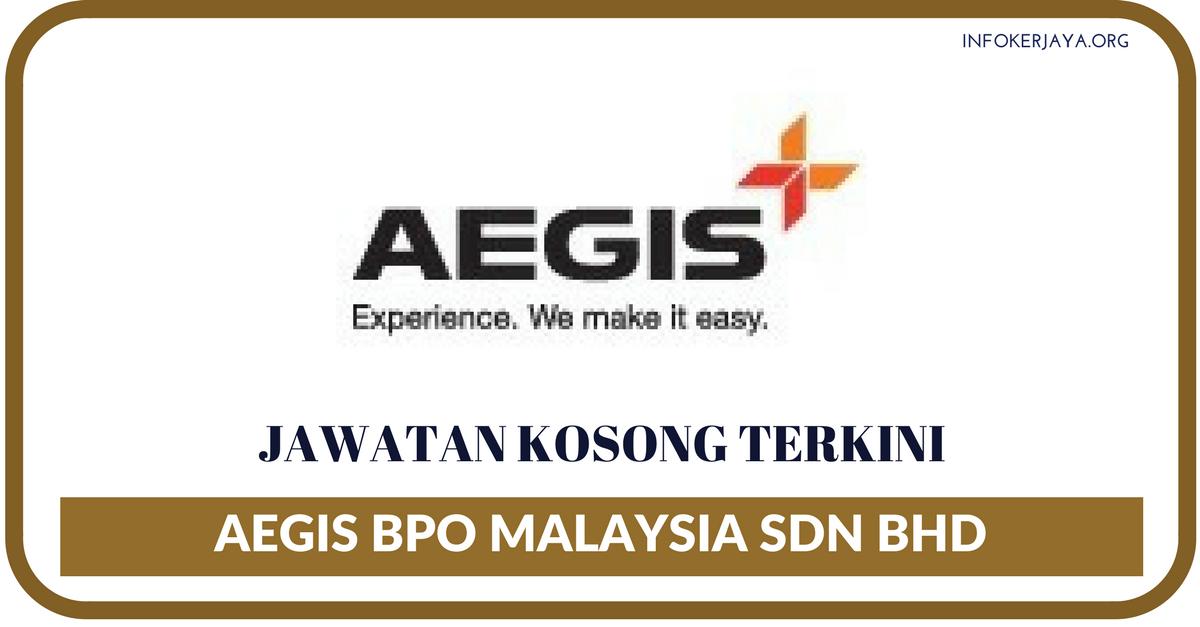 Jawatan Kosong Terkini Aegis BPO Malaysia