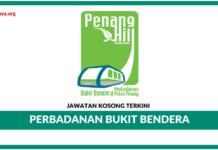 Jawatan Kosong Terkini Perbadanan Bukit Bendera Pulau Pinang