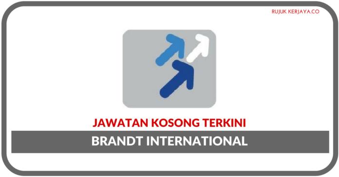 Jawatan Kosong Terkini Brandt International Sdn Bhd