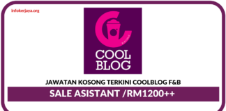 Jawatan Kosong Terkini Coolblog F&B Sdn Bhd