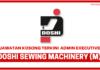 Jawatan Kosong Terkini Doshi Sewing Machinery (M) Sdn Bhd