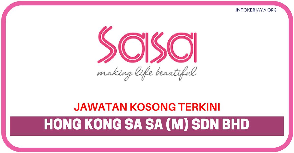Jawatan Kosong Terkini Hong Kong Sa Sa (M) Sdn Bhd