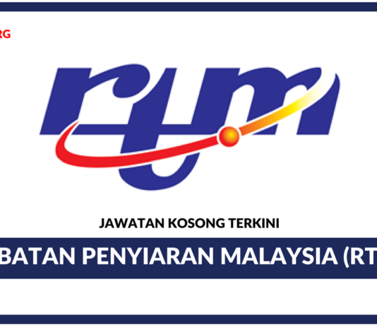 Jawatan Kosong Terkini Jabatan Penyiaran Malaysia (RTM)