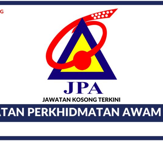 Jawatan Kosong Terkini Jabatan Perkhidmatan Awam (JPA)