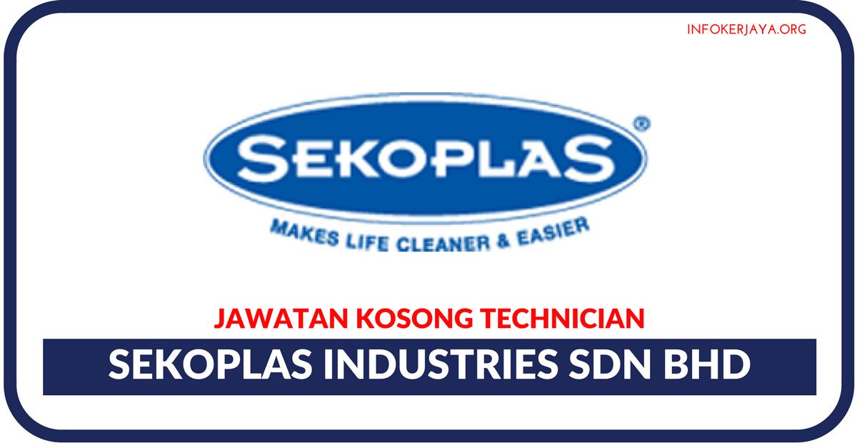Jawatan Kosong Terkini Sekoplas Industries Sdn Bhd
