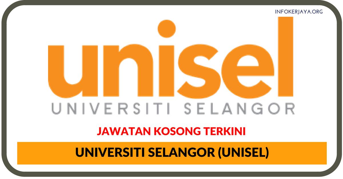 Jawatan Kosong Terkini Universiti Selangor (UNISEL)