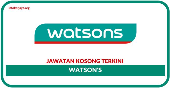 Jawatan Kosong Terniki Watson's