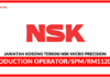 Jawatan Kosong Terkini NSK Micro Precision (M) Sdn Bhd