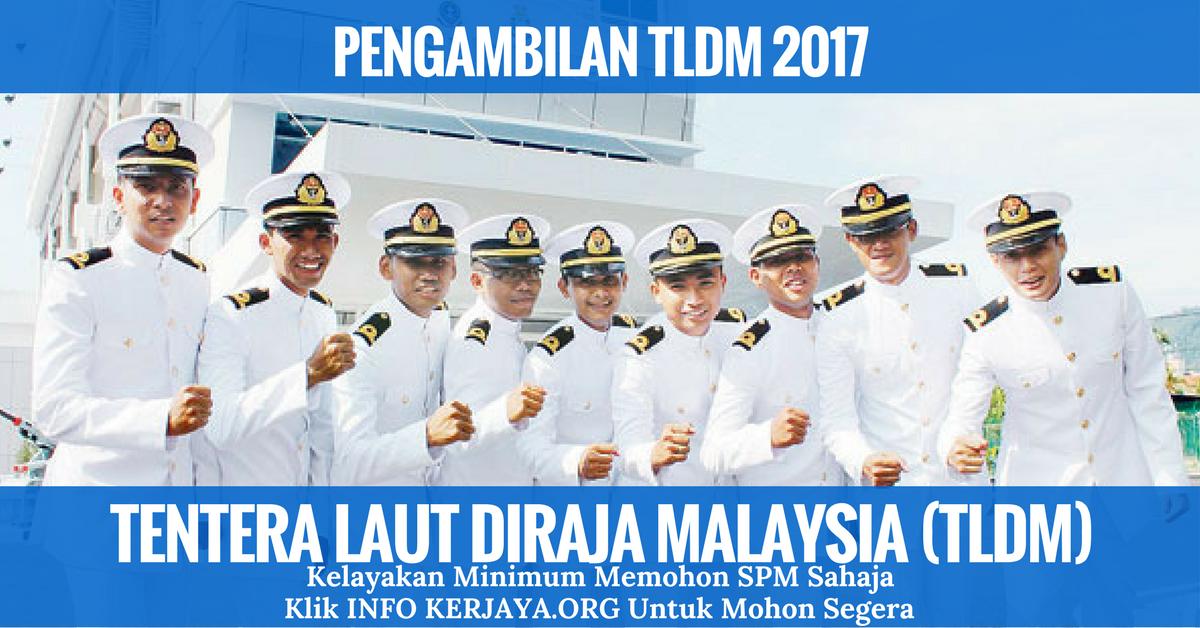 Temuduga Terbuka Tentera Laut Diraja Malaysia Tldm Jawatan Kosong Terkini