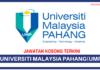 Jawatan Kosong Terkini Universiti Malaysia Pahang (UMP)