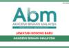 Jawatan Kosong Terkini Akademi Binaan Malaysia