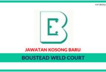 Jawatan Kosong Terkini Boustead Weld Court