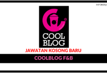 Jawatan Kosong Terkini Coolblog F&B